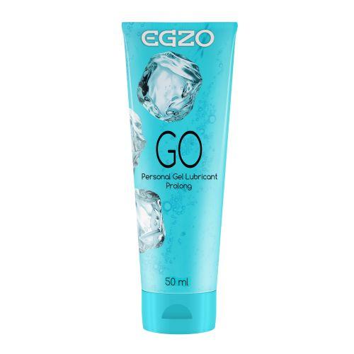 Лубрикант охлаждающий и пролонгирующий EGZO GO на водной основе 50 мл ЕГЗО