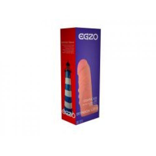Удлиняющая насадка на член - презерватив из киберкожи EGZO ES003