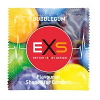 Презервативы со вкусом жвачки BUBBLEGUM EXS 2 шт