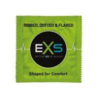 Стимулирующие презервативы с ребрами и точками EXTREME EXS 2шт