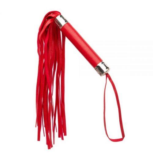 Плетка из экокожи FLOGGER RED