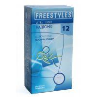 Презервативы  Супертонкие FREESTYLES №12 Ultra Light Суперчувствительные