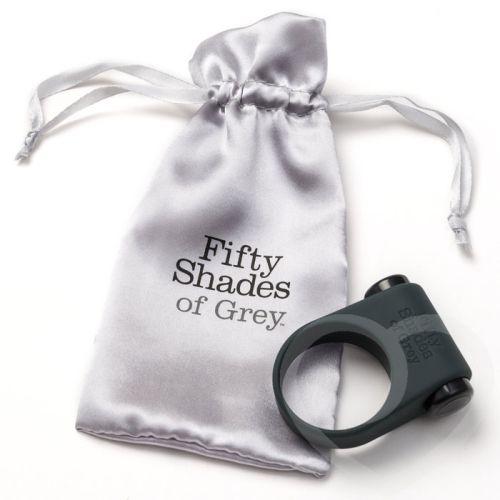 Эрекционное кольцо с вибрацией Fifty Shades of Grey