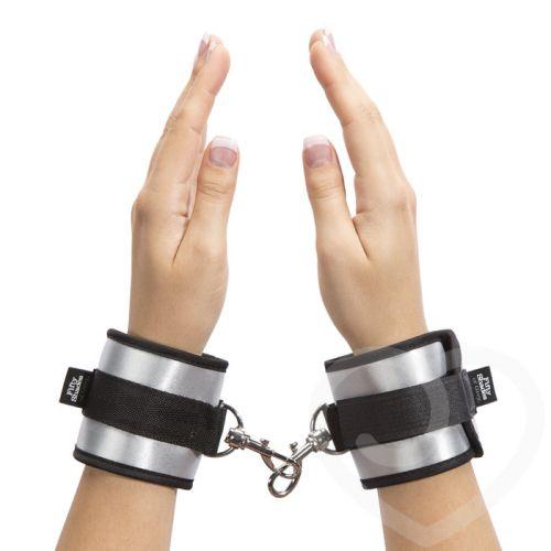 Мягкие наручники для БДСМ ВСЯ ЕГО Fifty Shades of Grey