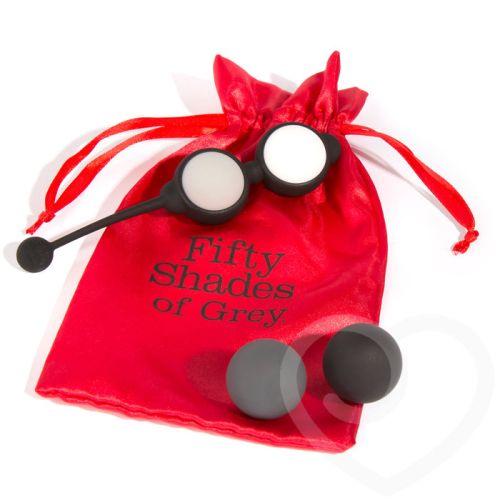 Вагинальные шарики набор Вес: 15, 25, 35 и 55 гр Fifty Shades of Grey