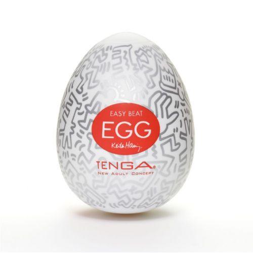 Яйцо мастурбатор для мужчин Tenga (Тенга) Keith Haring EGG Party