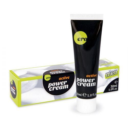 Возбуждающий крем-гель для мужчин Power cream active