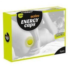 Возбуждающие капсулы для мужчин ERO Energy Caps 5 шт