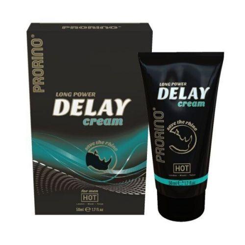 Крем пролонгатор для мужчин HOT Prorino Delay Cream 50 ml