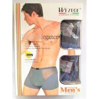 Трусы-шорты мужские (2шт в упаковке), размер XXL микс цветов