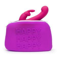 Кейс для секс игрушек большой Happy Rabbit фиолетовый