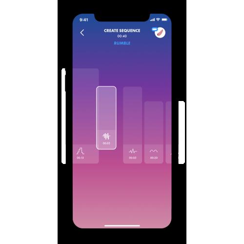 Вакуумный стимулятор с вибрацией и управлением с телефона чёрный Love Triangle Satisfyer