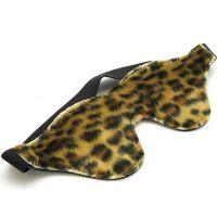 Леопардовая маска на глаза