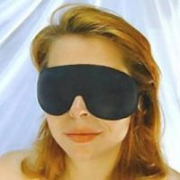 Повязка на глаза черная