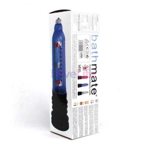 Гидронасос для увеличения пениса Bathmate (Басмейт) Hydro 7 синяя для члена 12.5-17.5 см