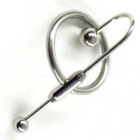 Катетер для уретры с кольцом из нержавеющей стали