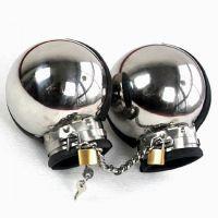 Металлические бондажные наручники для БДСМ-игр