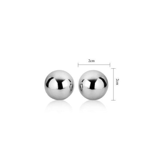 Металлические вагинальные шарики Lovetoy Passion Dual Balls