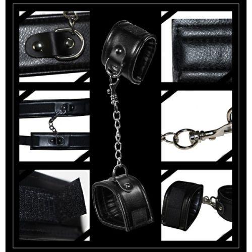 Набор для легкого садо-мазо DELUXE SM Bondage Kit