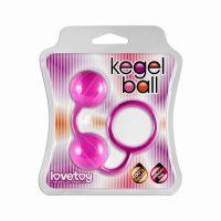 Вагинальные шарики Lovetoy розовые