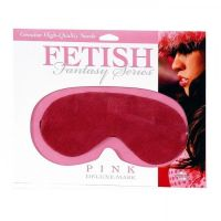 Розовая маска на глаза из шелка FetishFantasy для БДСМ-игр