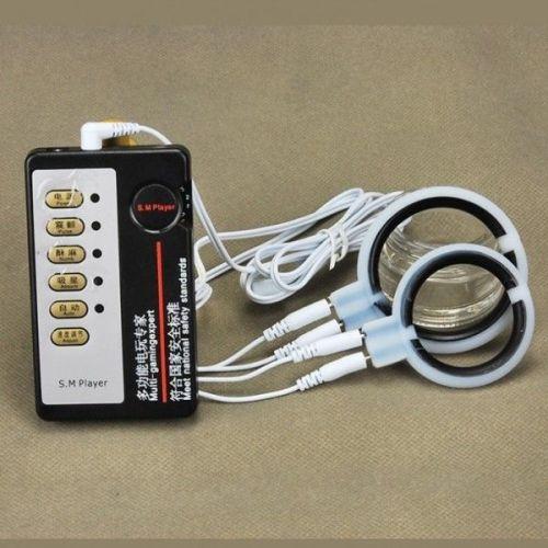 Насадки на член с электростимуляцией
