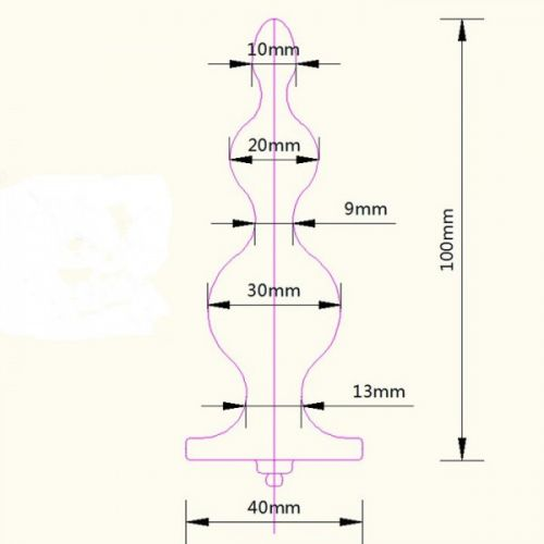 Анальная пробка с электростимуляцией