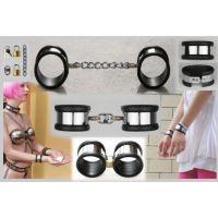 Женские наручники с силиконовой подкладкой