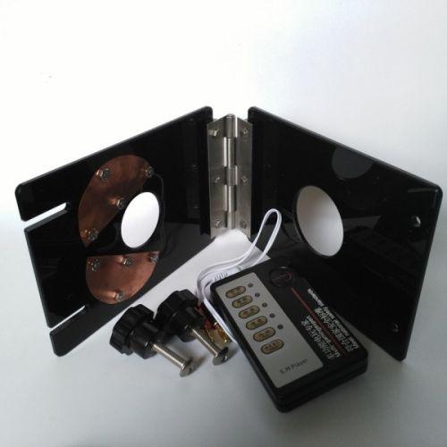 Фиксатор на член и яйца с электростимуляцией для БДСМ