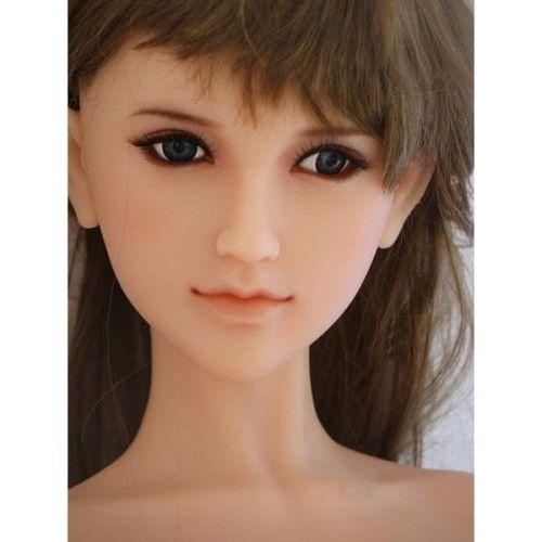 Секс кукла реалистичная силиконовая SANHUI 145cm With C Cup Love Doll Tessa