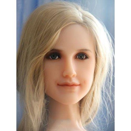 Секс кукла реалистичная силиконовая блондинка SANHUI 145cm With C Cup Love Doll Bridgette