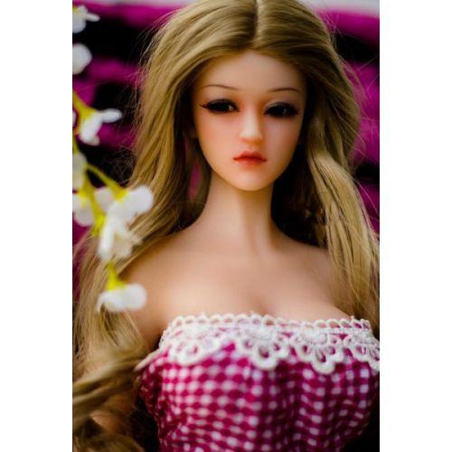 Секс кукла реалистичная силиконовая SANHUI Mini-size 65cm Linda #1