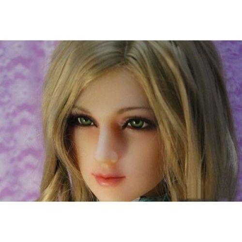Мини секс кукла реалистичная силиконовая блондинка SANHUI 88cm Nancy #4