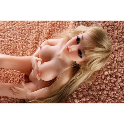 Мини кукла для секс реалистичная силиконовая SANHUI 88cm Nancy