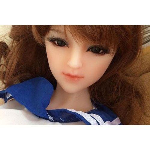 Мини секс кукла реалистичная силиконовая Nancy #2 SANHUI Mini-size 88cm