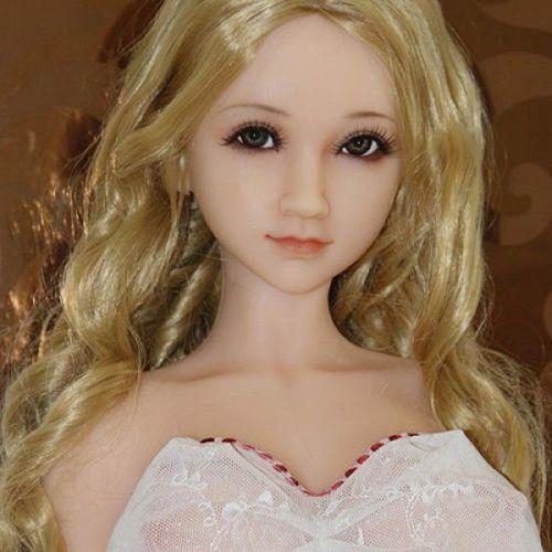 Секс кукла реалистичная блондинка из силикона SANHUI 102cm Lovely Lisa
