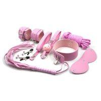 Набор для БДСМ розовый