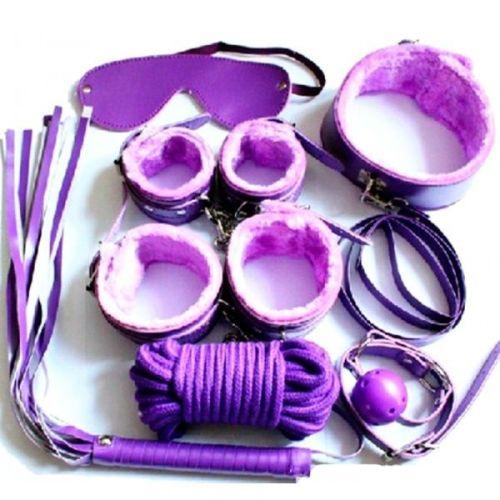 Набор для БДСМ-фиксации фиолетовый