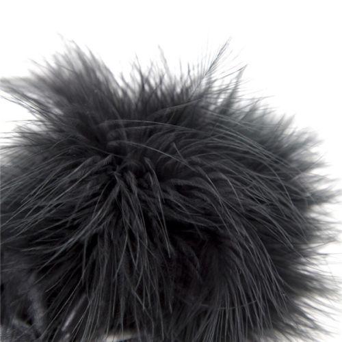Перьевой тиклер черный для БДСМ