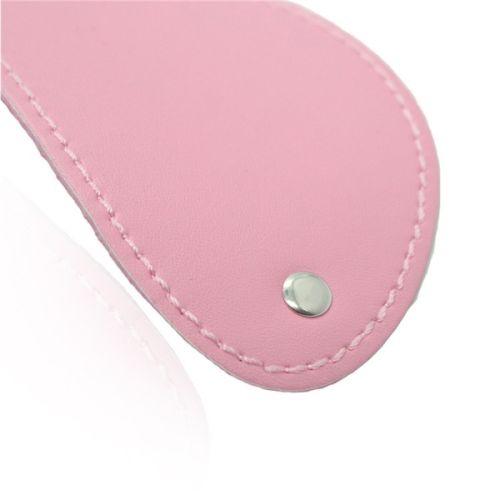 Розовая маска на глаза из шелка Zipper