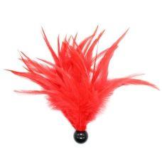 Щекоталка красная для БДСМ