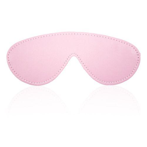 Нежная розовая маска на глаза для БДСМ