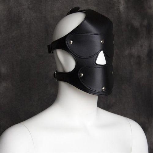 Черная маска БДСМ