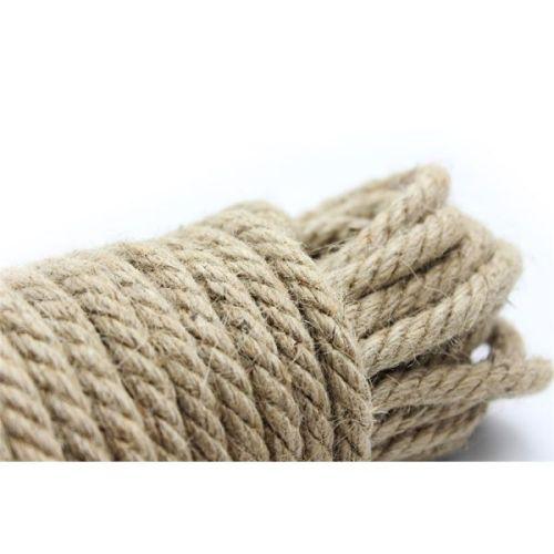Конопляная веревка для БДСМ фиксации 10м
