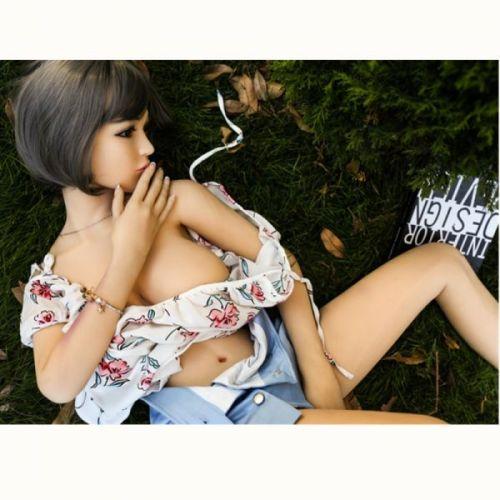 Супер-реалистичная секс кукла силиконовая Elsie 158 см