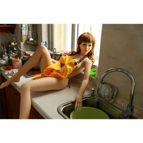 Супер-реалистичная секс-кукла силиконовая  XiaoZe 158 см