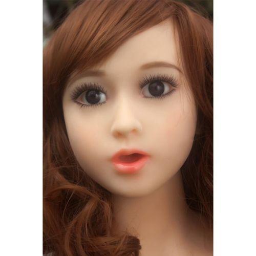 Супер-реалистичная секс-кукла силиконовая JingJing 158 см