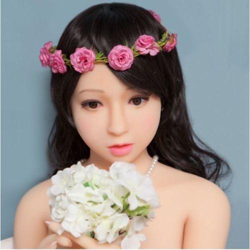 Супер-реалистичная кукла для секса силиконовая 160 см с лицом NO.31