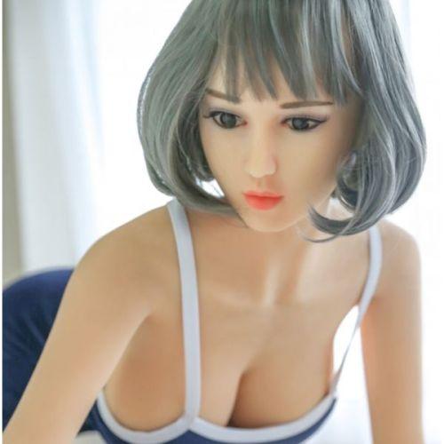 Супер-реалистичная секс кукла силиконовая 160 см с лицом NO.50
