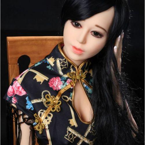 Супер-реалистичная секс кукла силиконовая 160 см с лицом NO.46